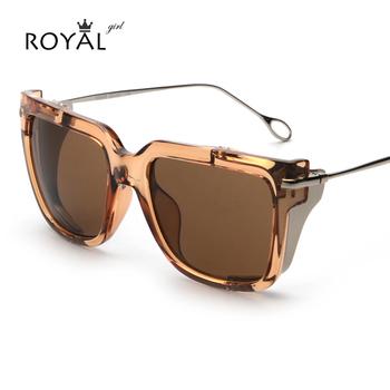 Okulary przeciwsłoneczne designerskie prostokątne różne kolory