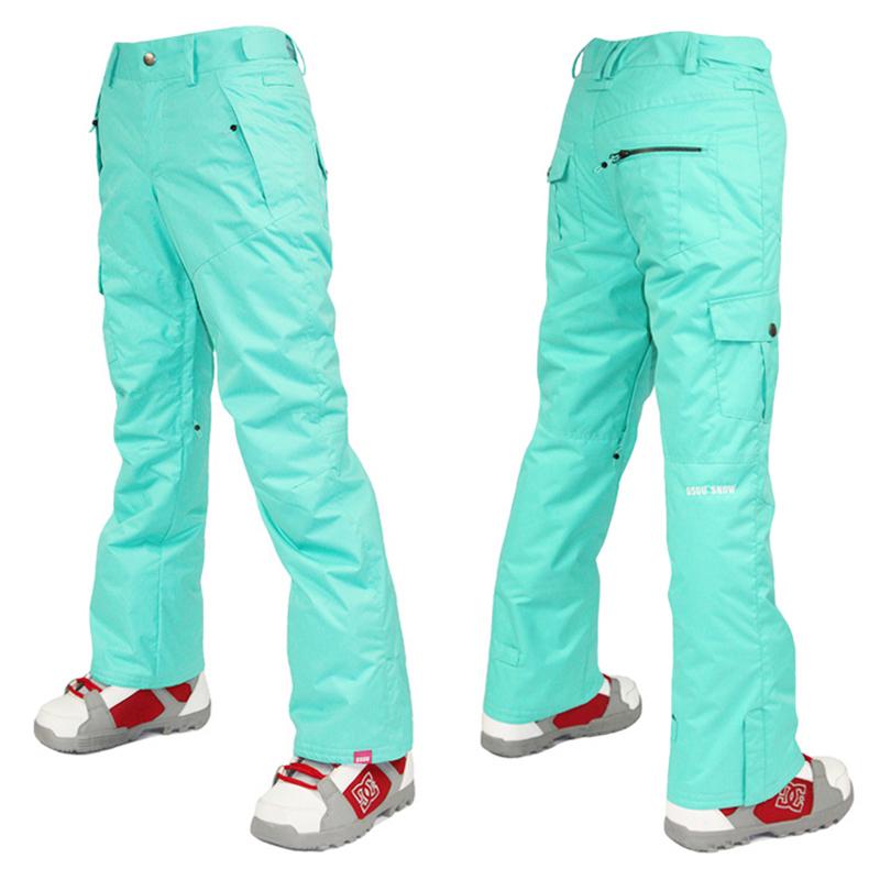 Gsou snow skiing pants womens skiing pants waterproof thermal skiing pants monoboard skiing pants<br><br>Aliexpress