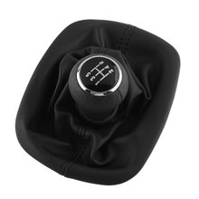 NEW Hot 5 Speed Gear Shift Knob Gaitor Cover Black For VW For PASSAT B5 For Volkswagen High Quality Durable