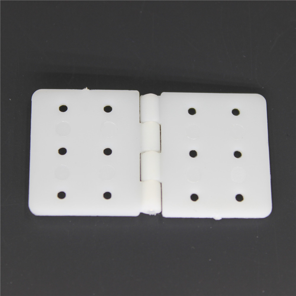 10pcs Plastic Pinned Nylon Hinges 20x36 mm For Remote Control RC Airplanes Parts Model Aeromodelling Replacement(China (Mainland))