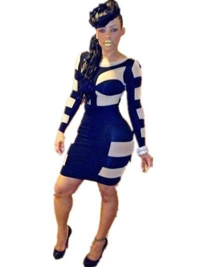 2015 New Arrival Bandage Bodycon Women Dresses Long Celebrity Sexy Ladies Party Dress Clubwear Outfit Vestidos RQ066(China (Mainland))
