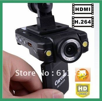 Promotions for 1080P car DVR K2000, H.264 format, 2.0 screen, 140 degree view angle+HDMI slot, Dropshipping!