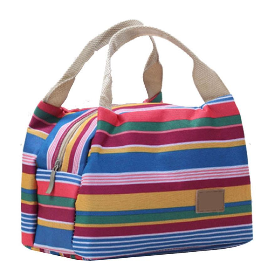 Гаджет  Newly Design Thermal Insulated Lunch Box Tote Cooler Zipper Bag Bento Lunch Pouch Hot June18 None Камера и Сумки
