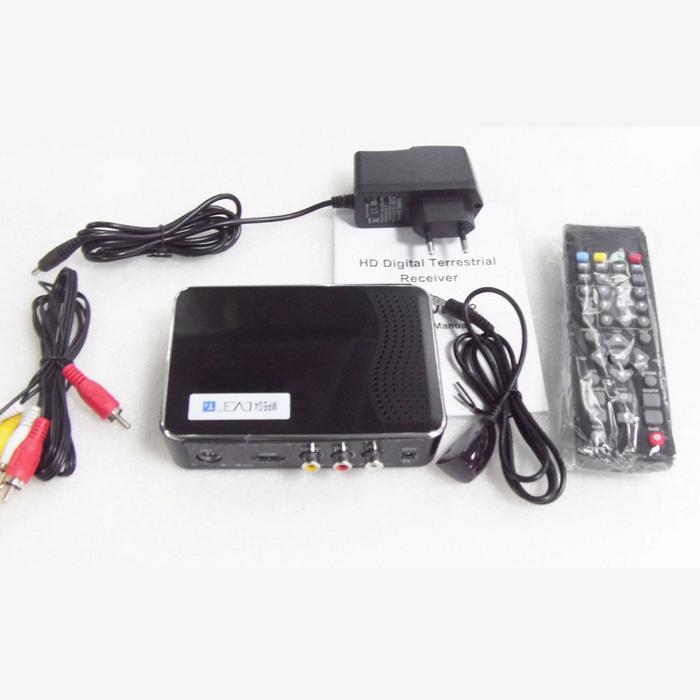 HOT!!!High Definition Digital Terrestrial DVB T2 DVB-T2 Receiver with MPEG2/ MPEG4/H.264/DVB-T2 /USB/HDMI 1080P(China (Mainland))