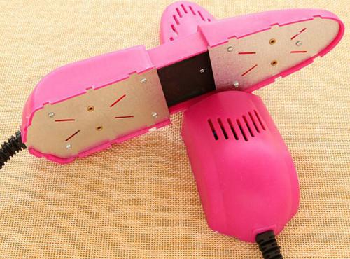 新しい 2 ピース/ロット靴乾燥機乾燥装置用靴殺菌脱臭靴ウォーマー/靴ヒーター