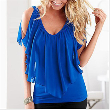 Sexy Off Shoulder Summer Style T-Shirt 2016 Beach Backless Women Tops Tshirt Female Short Sleeve Solid Top Tee Cool S M L XL 2XL(China (Mainland))