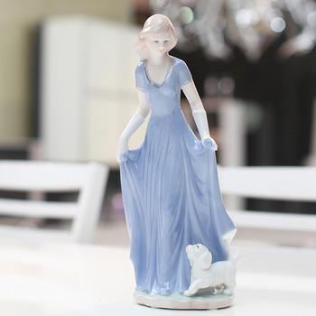 Ceramic fashion crafts decoration crafts home accessories skirt gift