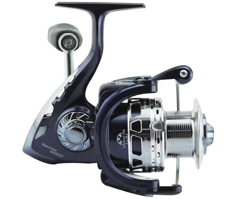 Heavy duty surf fishing reel kastking triton 3000 spinning for Heavy duty fishing rods