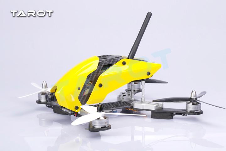 Фотография Tarot Robocat TL250C Real 3K Carbon Fiber Mini 250 FPV Quadcopter Frame Kit