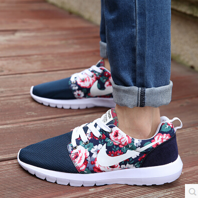 Гаджет  Top Quality 2015 New Design Flower fashion casual women men shoes hot sale air Mesh casual breathable shoes woman None Обувь