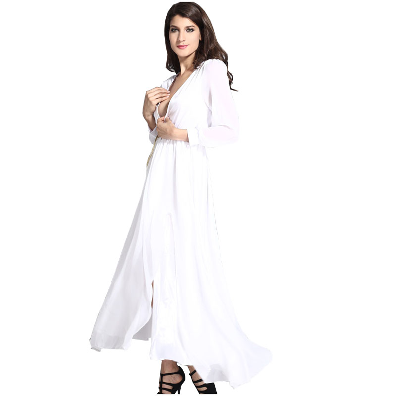 2015 summer style women shirt dress ladies casual floor Buy white dress shirt