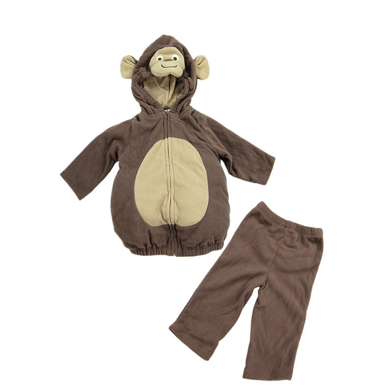 Carters Original Newborn Clothing Set 2015 Cute Monkey Unisex Cotton Carters Infant Clothing Halloween Baby Cosplay Costumes(China (Mainland))
