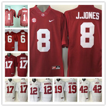 Stitiched,Alabama Crimson Tide,Joe Namath,Kenyan Drake,Reggie Ragland,Eddie Lacy,Blake Sims,Julio Jones,Nick Saban,Mark Ingram()