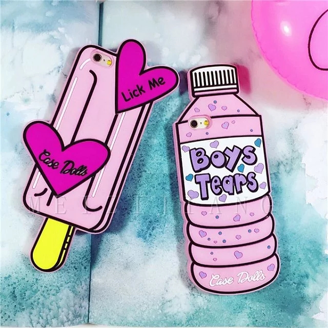 New Arrival Dolls Case for Apple iPhone 6 6S 4.7'' 6plus Plus 5.5'' Boys Tears/Like a Stick Soft Silicone Fashion Shell Cover(China (Mainland))