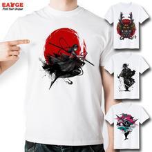 [EATGE] 2016 Brand Men Women T-shirt Hip Hop 3D Funny T Shirts Men's Anime Tee Shirt Casual Japanese Samurai Printed Tshirt(China (Mainland))