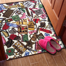 Free shipping Japan and South Korea women Accessories bedroom bedside blanket Bay window mat Corridor carpet kitchen mat