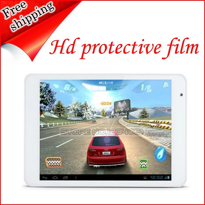 New 5X Front Screen Protection Film Protector For 7.85 Inch Ramos X10/X10Pro Tablet PC Free Shipping(China (Mainland))