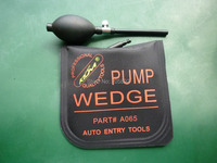 Hot KLOM Middle size air wedge Air pump wedge Inflatable Unlock tool ,air wedge,locksmtih tools free shipping-Black
