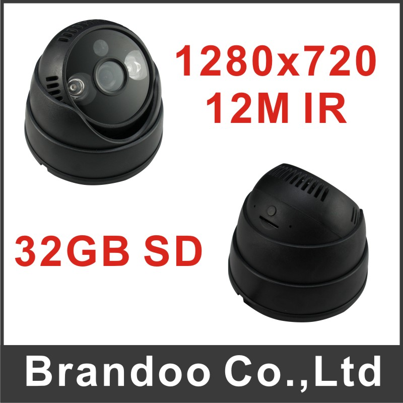 Free shipping DIY installation SD camera, wide used in home, office, warehouse, mini store, shops, auto recording in sd camera(China (Mainland))