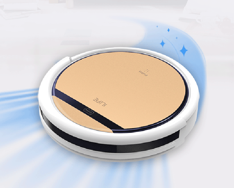 ILIFE V5s/v5pro robotic vacuum cleaner home floor Sweeping Machine Robot ASPIRADOR, Wet and Dry Clean,Self Charge(China (Mainland))