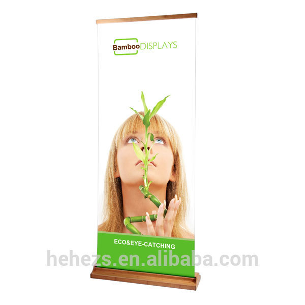 China supplier wide base roll up, luxury rollup display stand(China (Mainland))