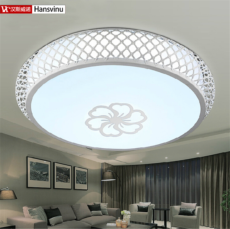 Alibaba Modern Ceiling Lights : Aliexpress buy hansvinu new w acrylic