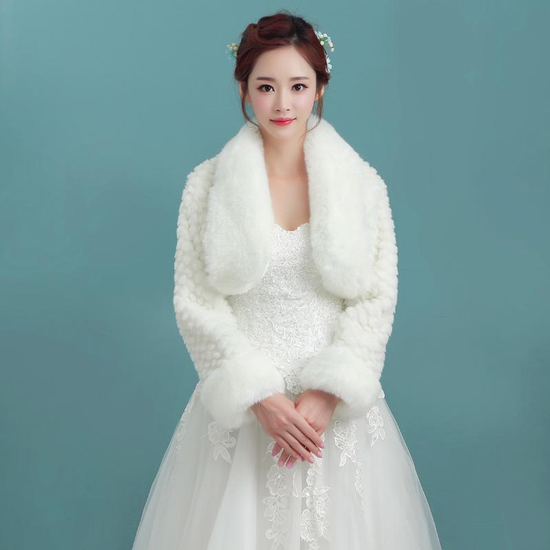 Popular women dress evening with bolero jacket buy cheap for Winter shawls for wedding dresses