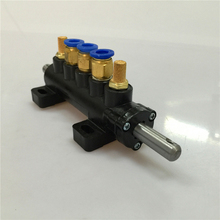 Tyre valve accessories auto accessories tire changer valve five-cylinder switch valve Valves free shipping