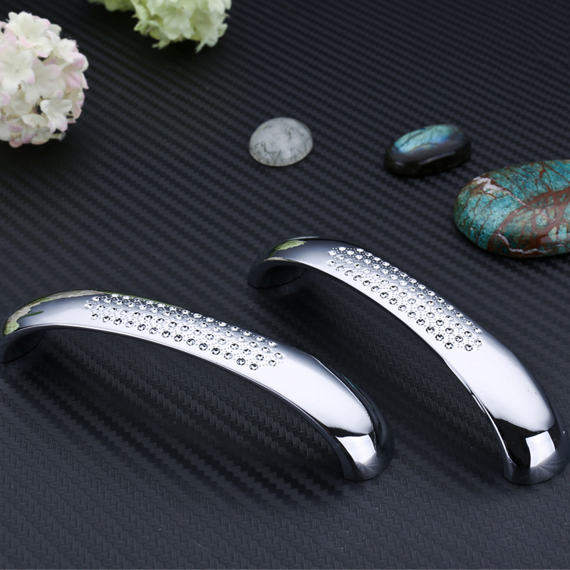 2 different size 96mm /128mm Top Quality Modern Kitchen Drawer Handles Cabinet Cupboard Door Handle Pulls XLD-6638(China (Mainland))