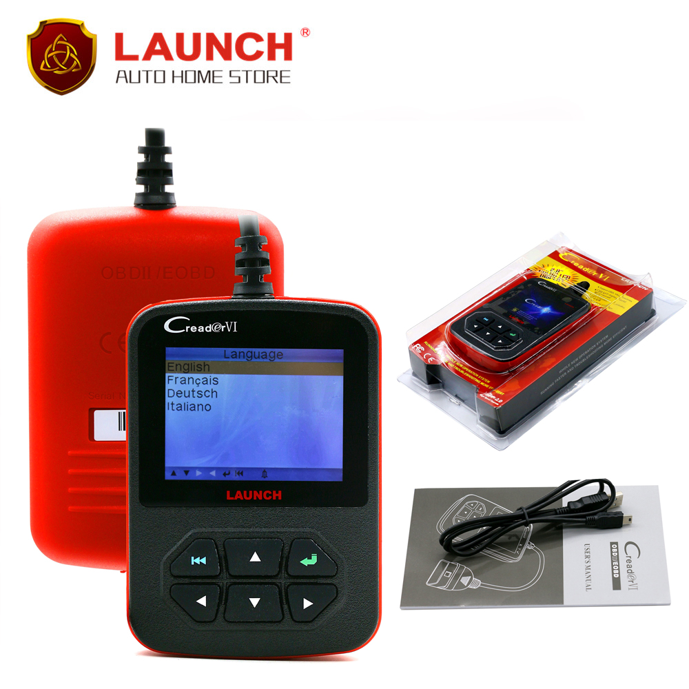 [Launch Distributor] 100% Original Launch Creader VI creader 6 code scanner Fast shipping(China (Mainland))