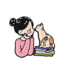 Dello smalto Del Fumetto Spilla Personalizzata Del Modello di Fiore bow-nodo Spilli Per Le Donne Cappello Sacchetto di Vestiti del Risvolto Spilli Fibbia Carino Gioielli regalo(China)