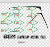2015 popular T1000 1K weave  carbon road frame super light carbon bike frame for carbon bike colors:950 951 952  953 to 959