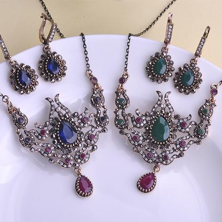 Meus Pedidos Vintage Jewelry Sets Necklaces Collar Max Brincos Joias Bijuterias Unicorn Austrian Crystal Bijou Mix