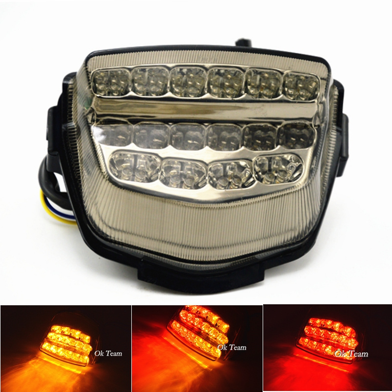 Motorcycle CBR1000RR Integrated LED Tail Light With Turn Signals For CBR1000RR 2008-2012 2009 2010 2011 Brake light(China (Mainland))
