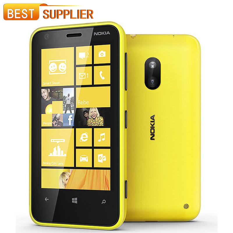 2016 Direct Selling Unlocked original Nokia Lumia 620 Windows cell Phone 8 Dual-core 1GHz 8GB Camera 5MP Wifi GPS Cellphone(China (Mainland))