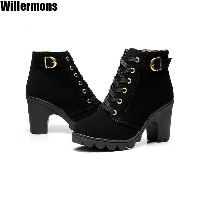 2015 Newest Fashion Women Winter Boots Wedges<br><br>Aliexpress