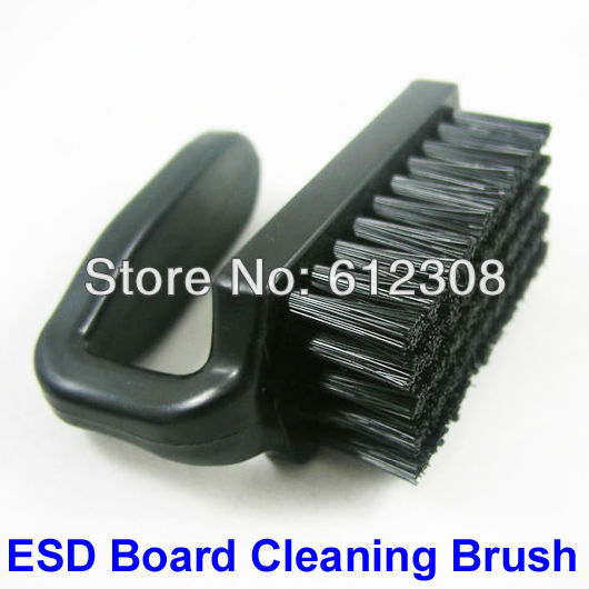 2 pcs / Lot / Pack ESD Static AntiStatic Control Nylon Bristle Plastic Hand Brush Cleaner For Cleaning Electric PCB Board SMD(China (Mainland))