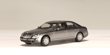 Grey 1:43 AutoArt AA Maybach 57 S SWB Alloy Automobile Mannequin Excessive-end Sizzling Promote Model Minicar Luxurious Items