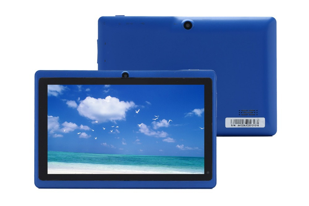 IRULU eXpro 7 Tablet PC Android 4 4 8GB ROM Quad Core Dual Camera 1 5GHz