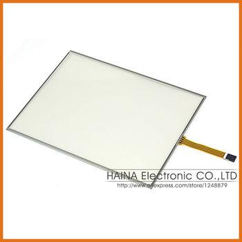 Широкоэкранный 14 14.1 дюймов 4 провод сенсорный экран резистивный USB панели для photobooth / фотокиоск / ноутбук