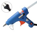 20W EU Plug Hot Melt Glue Gun with Free 1pc 7mm Glue Stick Industrial Mini Guns
