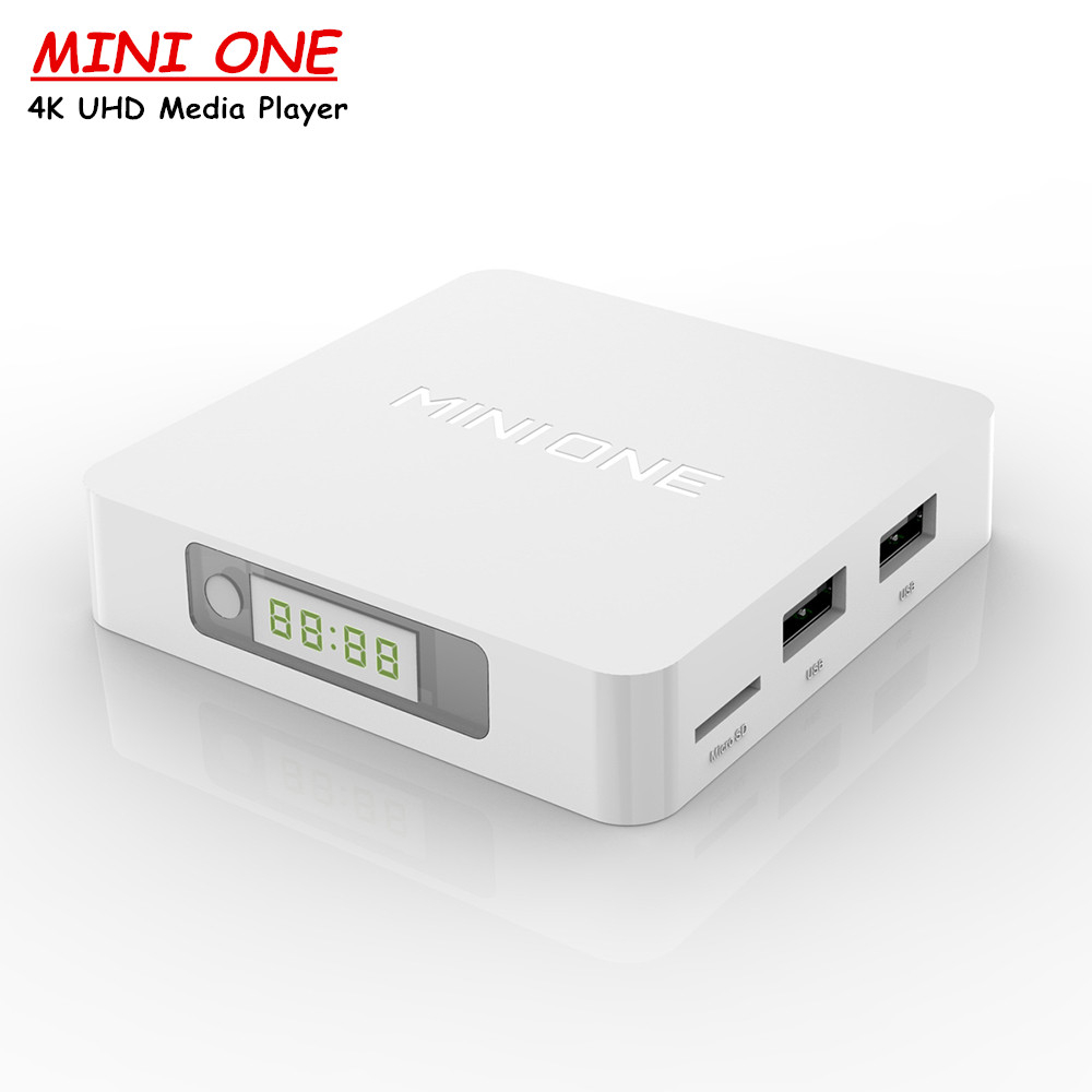 Mini One Android TV Box RK3229 Quad Cortex-A7 CPU Android 6.0 4K UHD Set Top Box 2.4G Wifi 1080p Small Media player(China (Mainland))