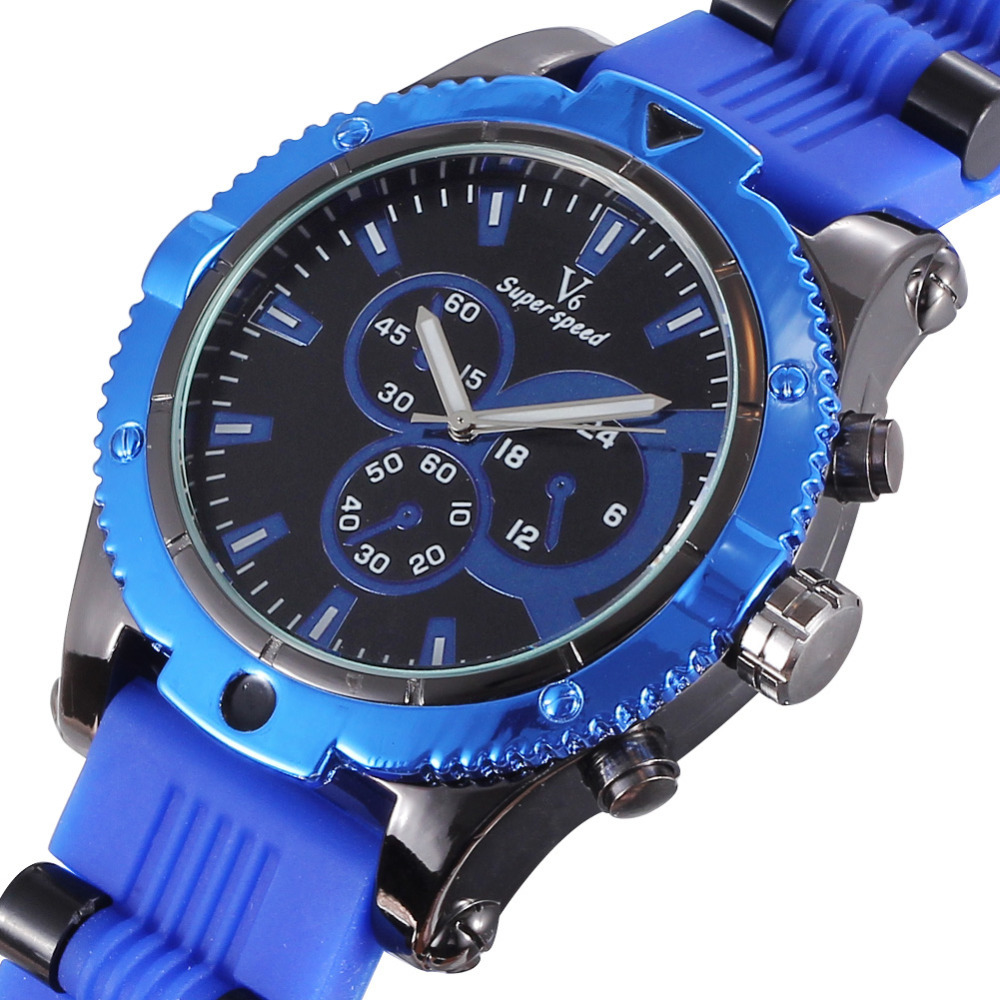 Original V6 Super Speed Trek Prg Quartz Men Watches Mountain Sport Watches Men Wristwatch Decoration Dials 2273(China (Mainland))