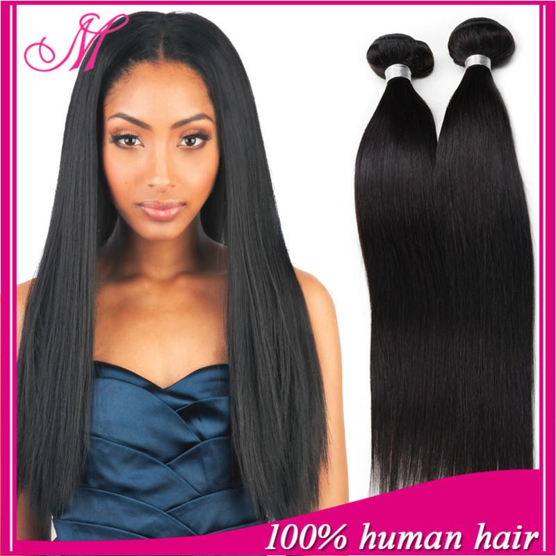 Peruvian Straight Hair Cheap Peruvian Straight Virgin Hair 4 Bundle Deals Unprocessed 6A Peruvian Virgin Hair Straight HC Hair(China (Mainland))