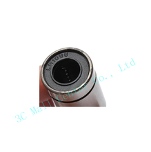 4pcs LM10LUU 10mmx19mmx55mm 10mm linear ball bearing bush bushing match use 10 mm linear guide rod round shaft for 3D printer