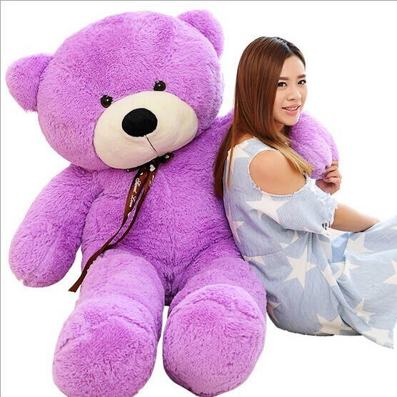 Low Price 80cm Giant teddy bear plush toys kids large soft stuffed animals children big peluches baby doll for women Gift(China (Mainland))
