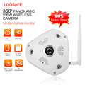 LOOSAFE 360 Degree VR Panorama Camera HD 960P Wireless WIFI IP Camera Home Security Surveillance System