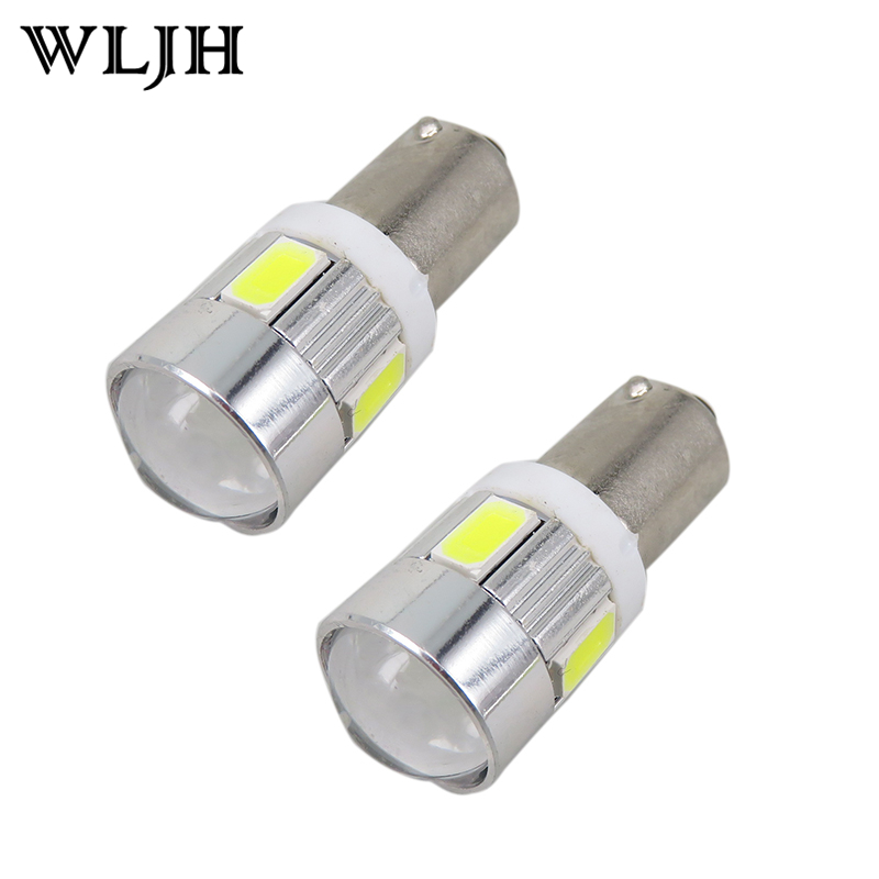10pcs Red Blue White Yellow BA9S Bulbs Car Led For Samsung 5630SMD H6W Interior Lighting Parking Light Car Light Source Warranty<br><br>Aliexpress