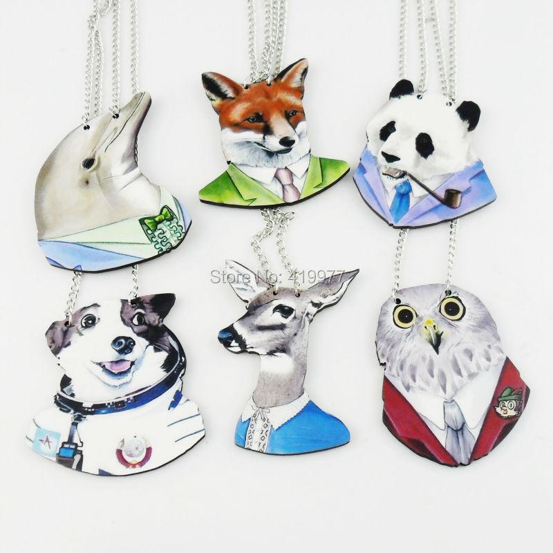 popular panda wood necklacebuy cheap panda wood necklace