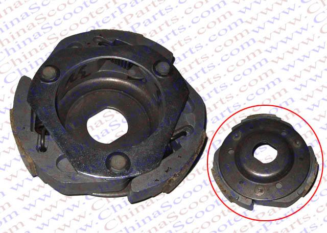 Clutch shoe font b GY6 b font 125CC 150CC 152QMI 157QMJ ATV Buggy Scooter Go Karts